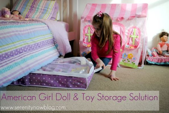 Serenity Now: American Girl Doll and Toy Storage Solution: