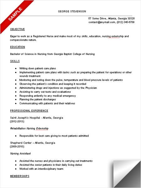 nursing resume skills sample resume nurse aide resume sle nursing