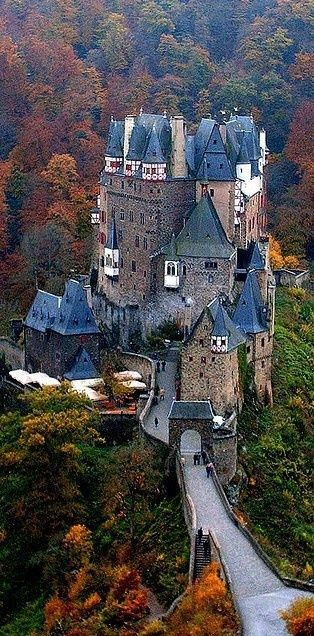 Burg Eltz Castle, Germany | Amazing Snapz | See more:
