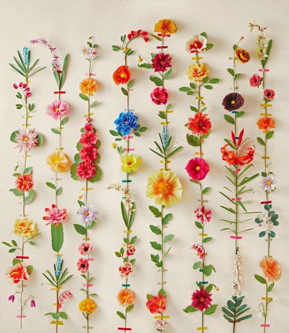The Exquisite Book Of Paper Flowers   Sam Flax: