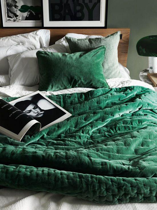 velvet home decor trend | designlovefest: