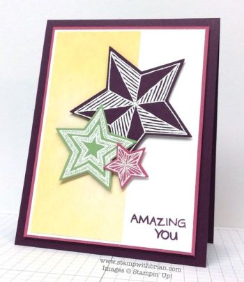 Be The Star, You're Wonderful, Stampin' Up!, Brian King, PPA240: