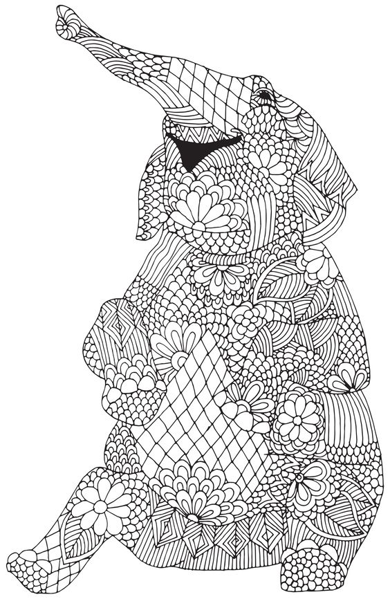 Printable Coloring Pages for Adults {15 Free Designs | Adult ... | 866x564