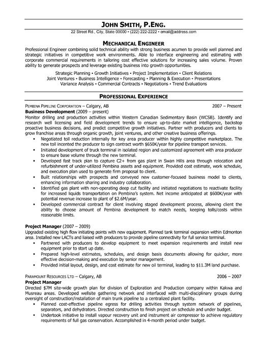 resume templates project manager resume and resume on pinterest