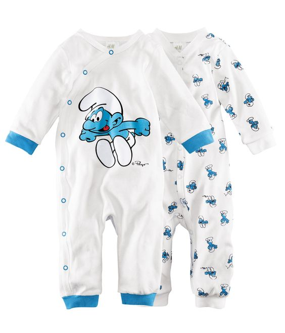 Smurfs Pajamas Licensed Stuff Pinterest Products And Pajamas
