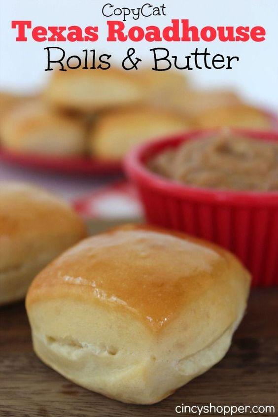 "CopyCat Texas Roadhouse Rolls with Cinnamon Honey Butter Recipe | Cincy Shopper ""If you are a fan of Texas Roadhouse you are going to LOVE this CopyCat Texas Roadhouse Rolls with Cinnamon Honey Butter Recipe."""