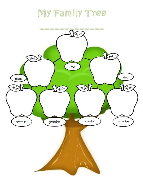 family tree template word free reference images clipart best