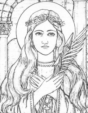 Saint Philomena by Immaculata Helvetia, via Flickr