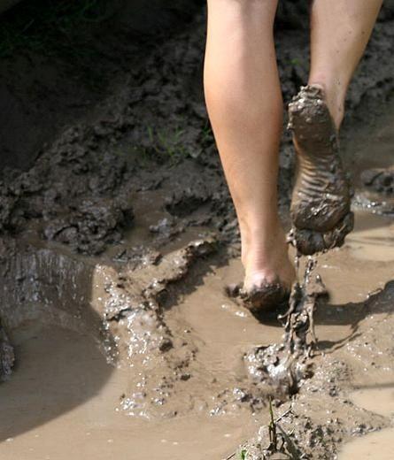 A little dirt never hurt ;)