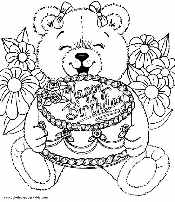coloring pages coloring and birthdays on pinterest