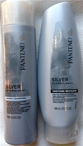 Pantene Silver Expressions Daily Color Enhancing Shampoo