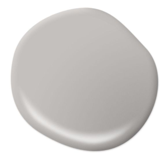 Main wall color - BEHR Premium Plus Ultra 1 gal. #PPU18-10 Natural Gray Eggshell Enamel Interior Paint-275001 - The Home Depot: