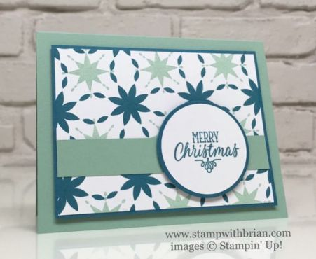 Star of Light, Hang Your Stocking, Stampin' Up!, Brian King: