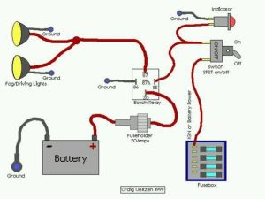 Wiring diagram for offroad lights   car accessories