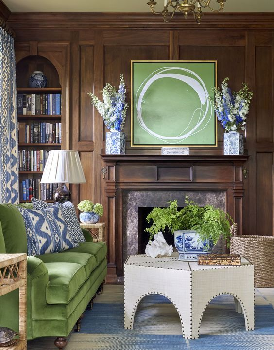 BLUE LOVES GREEN - Mark D. Sikes: Chic People, Glamorous Places, Stylish Things: