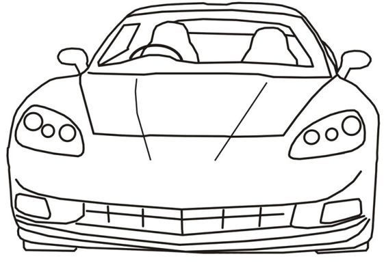 corvette stingray coloring pages coloring coloring pages