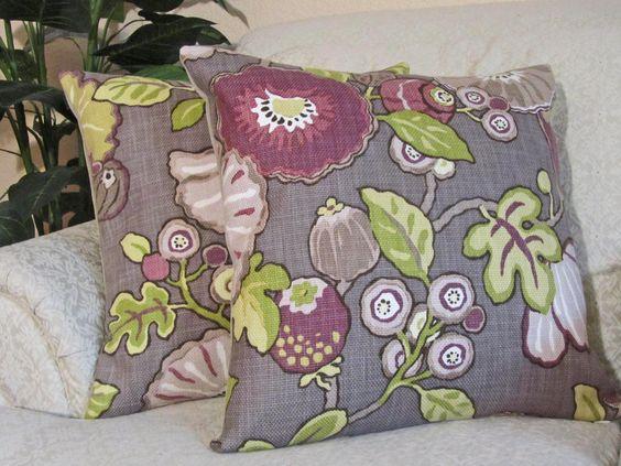 Purple Throw Pillow Cover Decorative Sofa Cushion Cover
