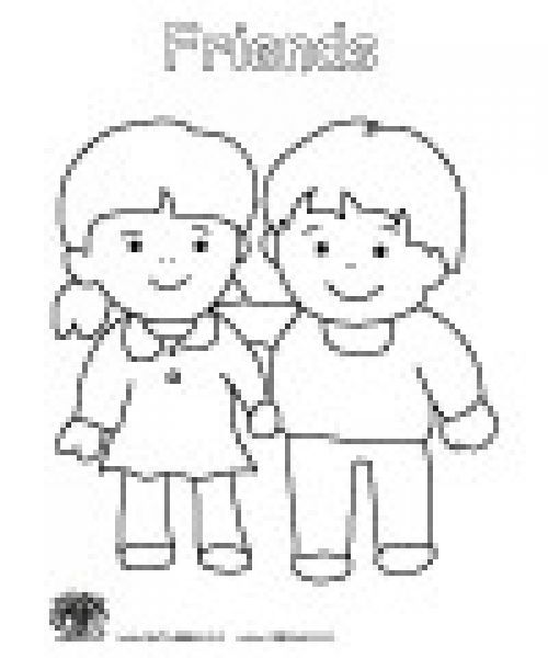 preschool coloring pages preschool friendship and coloring pages