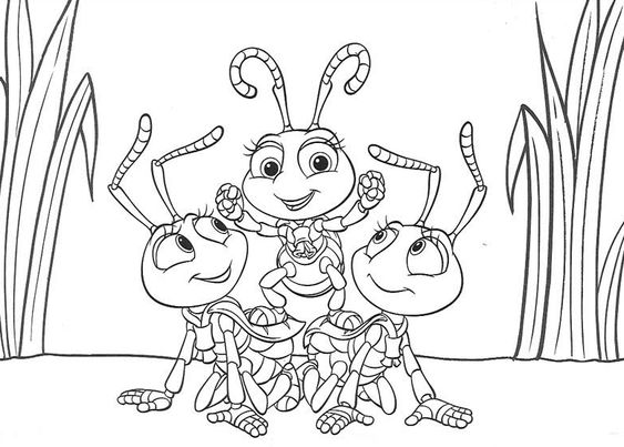 bug coloring and more a bug s life a bug coloring coloring pages life