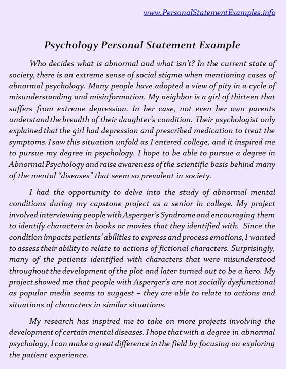 personal statements and psychology on pinterest