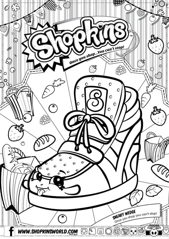 shopkins coloriage and coloration on pinterest