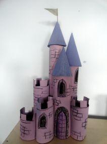 Resultado de imagen para castillos tubos del papel higiénico