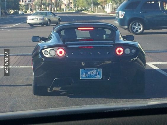 Electric Cars Cars And Vanity Plate On Pinterest