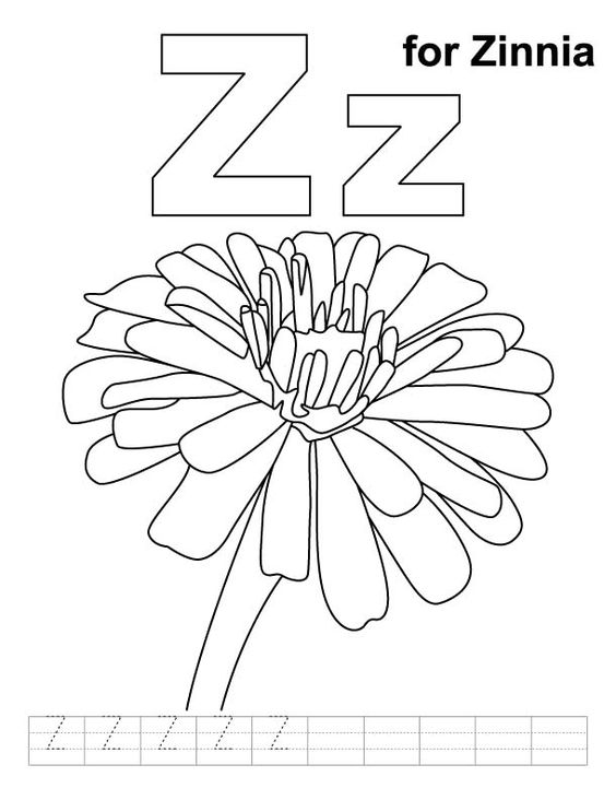 Letter F Coloring Pictures : Number names worksheets : letter f coloring sheet ~ free printable