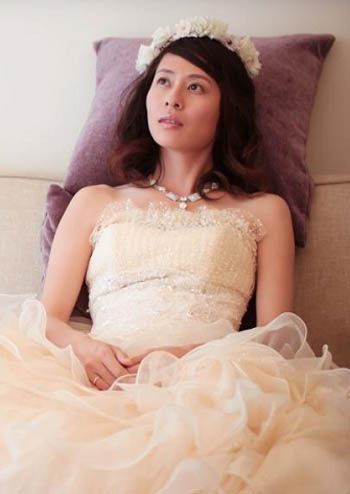 Bridal Hairstyle Amp Yellow Wedding DressYeah