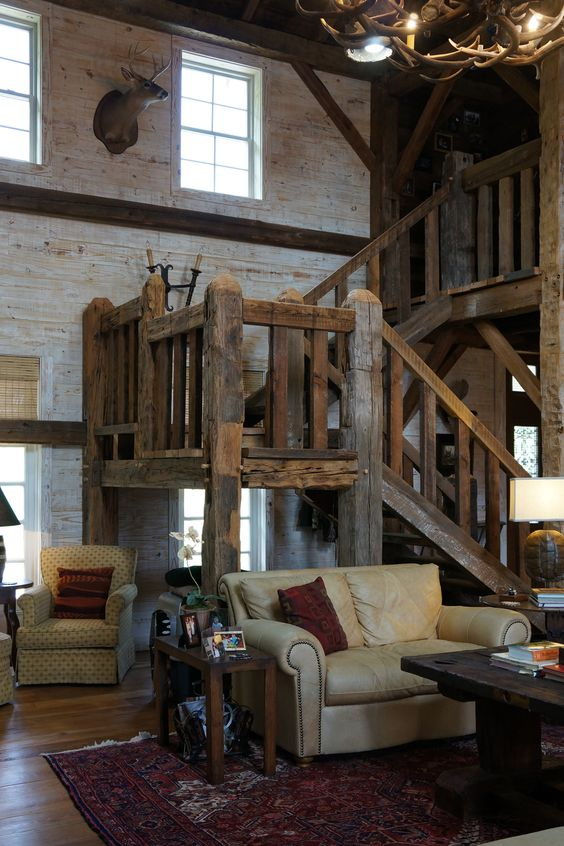 Barn Homes Barns And Stairs On Pinterest
