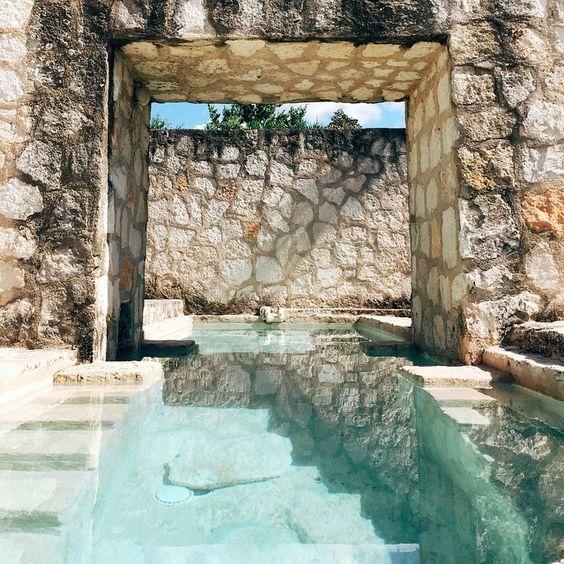 Stone Walls & Crystal Clear Personal Pool in Coqui Coqui Coba | Tulum: