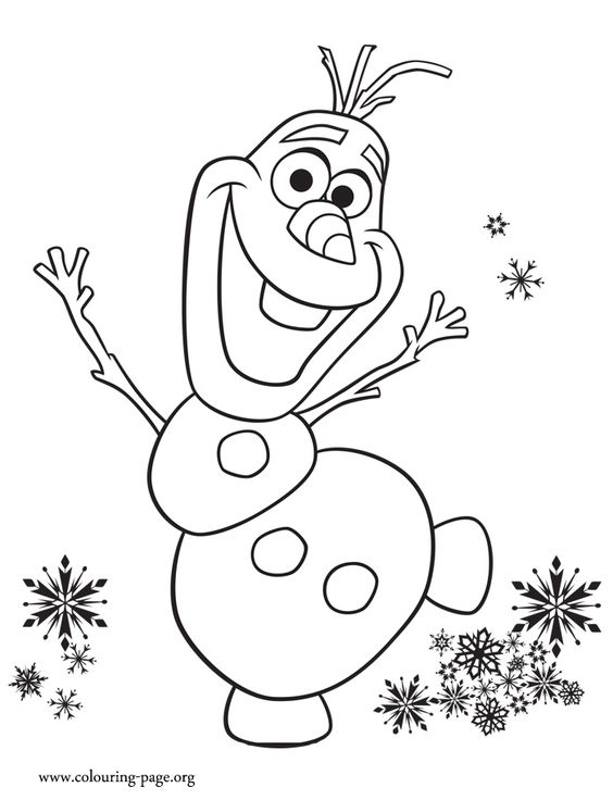 and color this beautiful disney frozen fever coloring page enjoy
