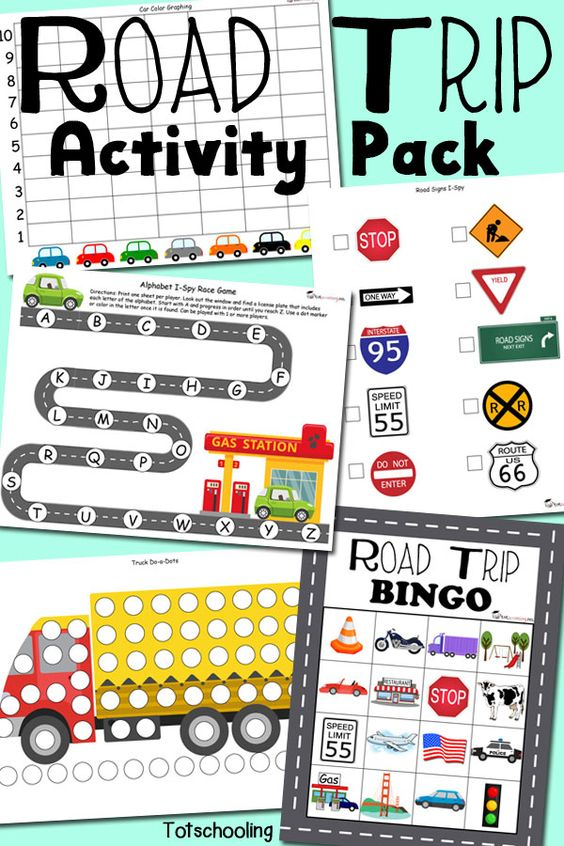 photograph about Printable Games for Kids identified as Printable Auto Game titles for Small children: A Should really for Your Upcoming Street Getaway