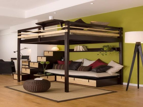 Adult Loft Bed Google Search Space Junkies Pinterest