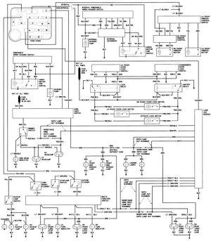 1990 Ford Steering Column Diagram | Repair Guides | Wiring