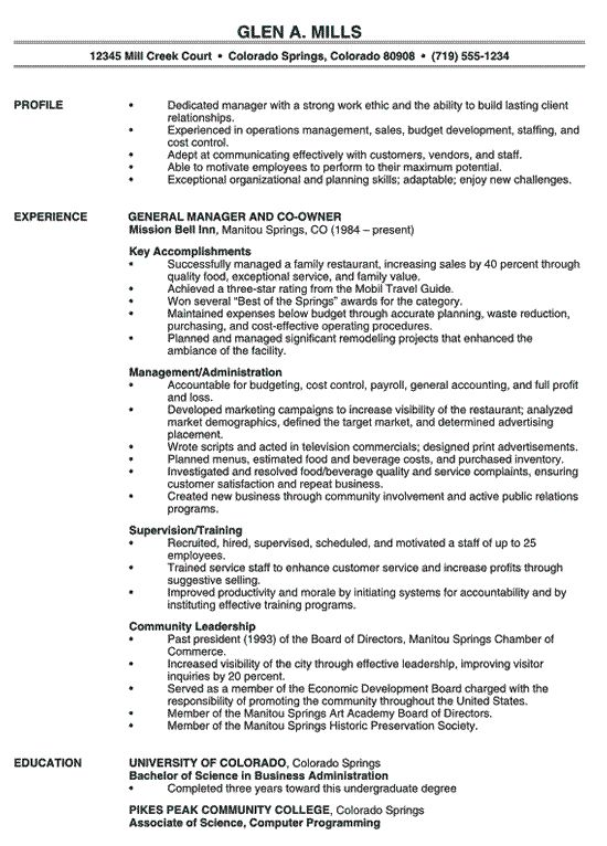 resume resume examples and resume objective sample on pinterest