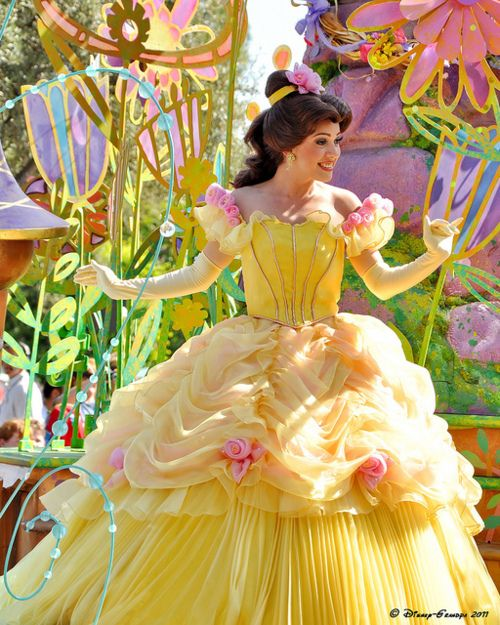 Belle has a new dress!: