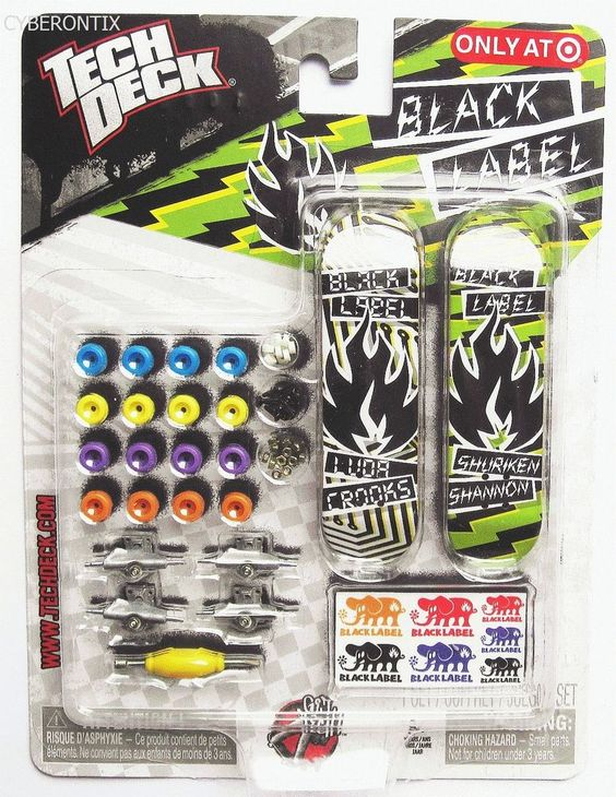 Tech Deck Foundation 96mm Mini Sk8 Skate Shop Skateboard