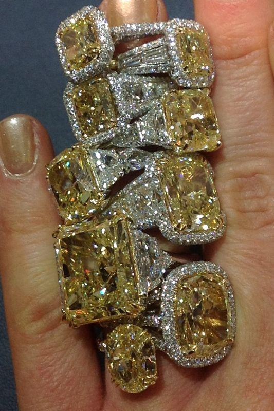 Yellow Diamonds By JB Star Jewels Pinterest