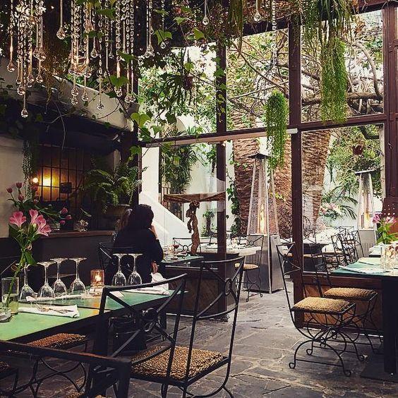 La Brasa garden restaurant, Pinterest