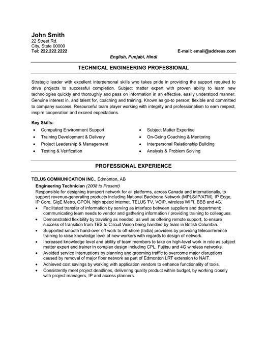 resume engineers and resume templates on pinterest