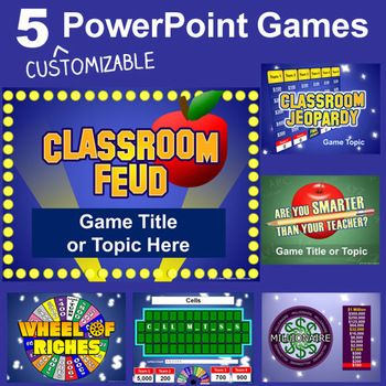 Classroom Game Templates. 8 classroom jeopardy templates free ...