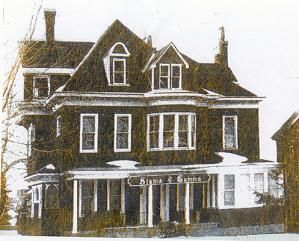 Sigma Gamma house, 53 West Seneca Street Oswego, NY.
