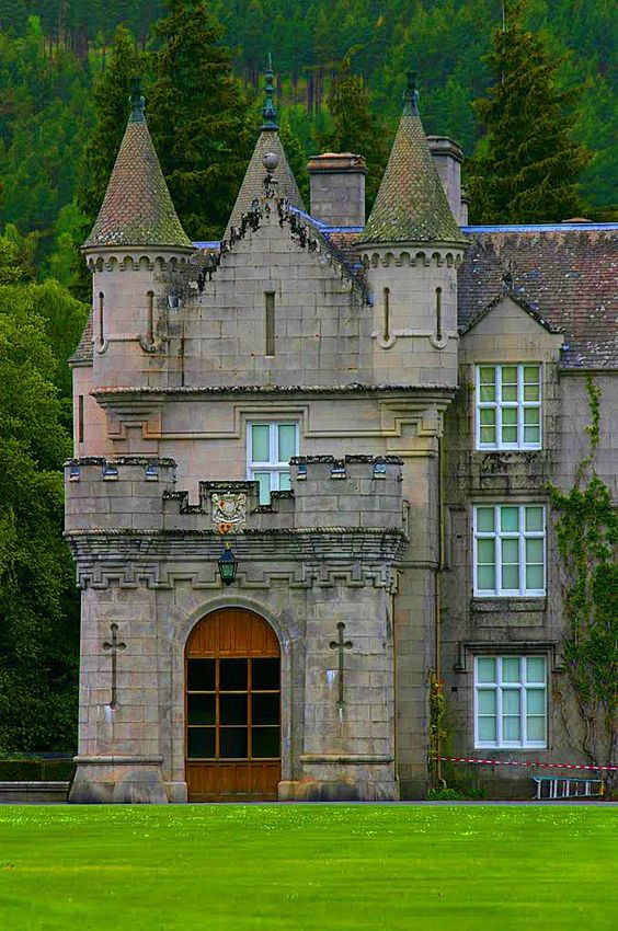 Medieval and haunted, Balmoral Castle in Scotland is an
