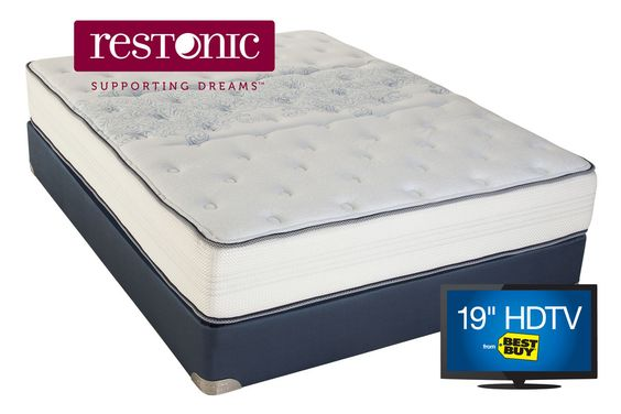 Restonic Comfort Care Select Savannah Firm Queen Mattress From Gardner White Furniture Pinterest Products