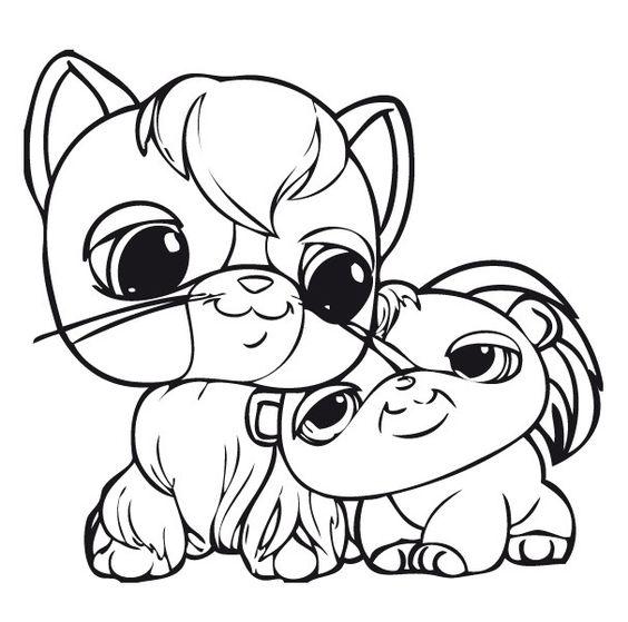 pet shop coloring pages printable series littlest pet shop print