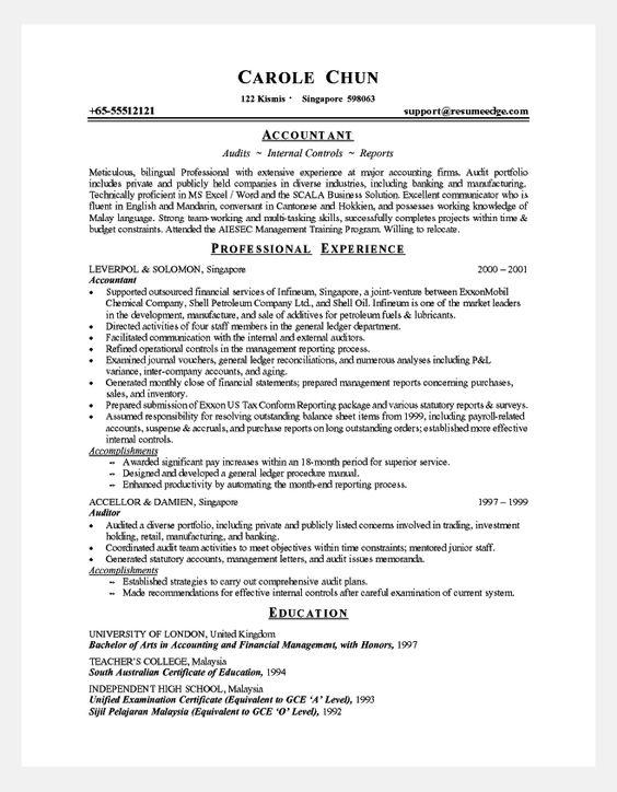 resume cover letter sample and letter sample on pinterest