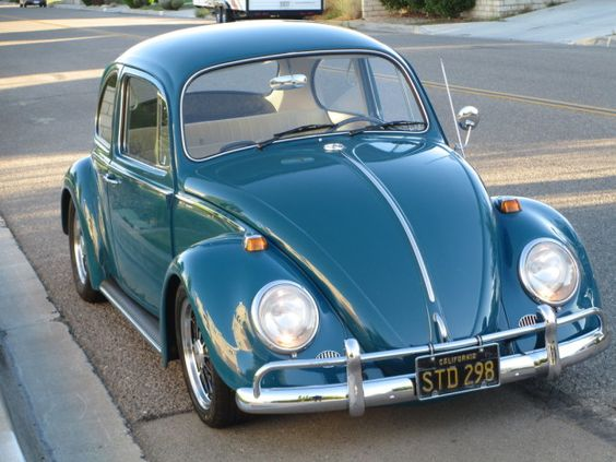 This Sea Blue 1966 Volkswagen Beetle features a number of driver-friendly modifications that should make it a lot of fun on the street. Though low, this car is not excessively slammed, and we think it looks great over BRM wheels. Find it here on The Samba in Apple Valley, California for $10,500 OBO.: