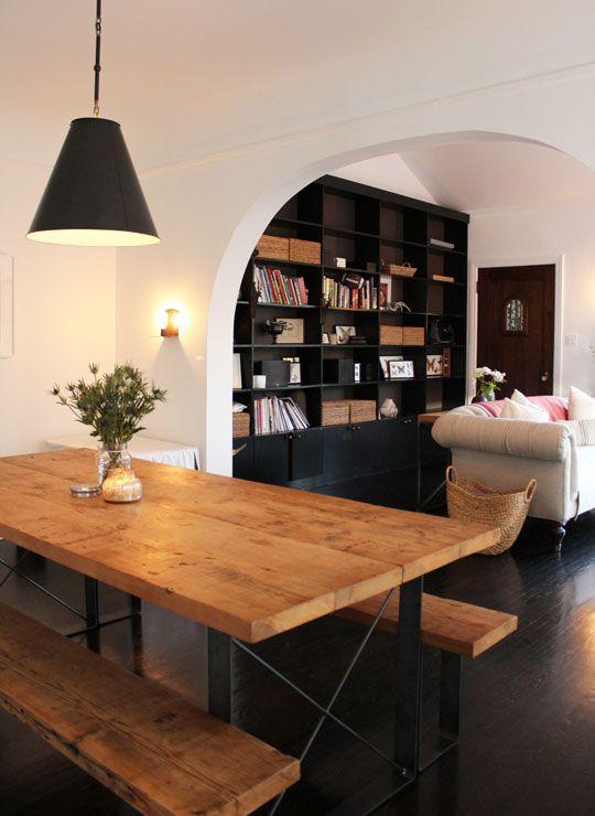 black bookshelves-my favorites