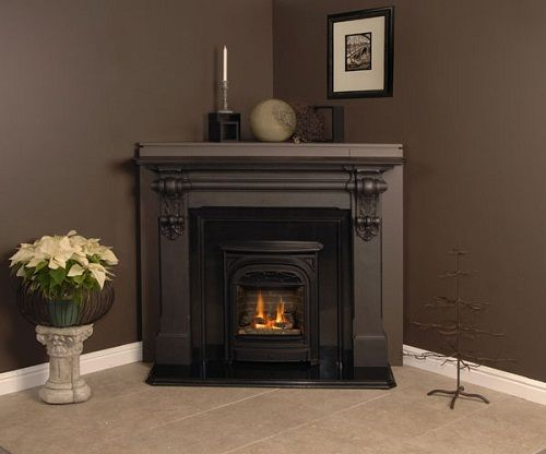 Corner Fireplace For Your Cozy Living